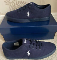 BNIB MENS POLO RALPH LAUREN HALFORD-NE-SK-VLC SHOES/TRAINERS/SNEAKERS UK 8 EU 42