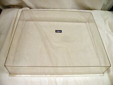 BIC 1000 Turntable Clear Dustcover Parting Out