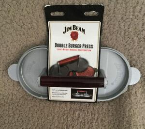 Jim Beam Double Burger Press BRAND NEW
