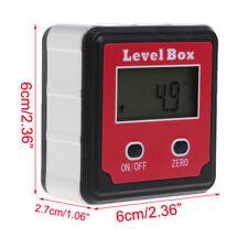 Digitaler LCD Winkelmesser Neigungsmesser Inklinometer Bevel Box Winkelmessgerät
