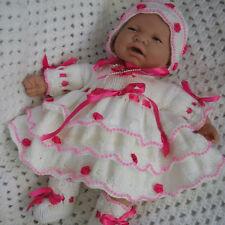 "Creative Dolls Designs Knitting Pattern Dress Set For 17-19"" Doll #40"