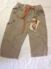 MKA makkia - pantaloni colore beige - taglia 9 mesi - 100% cotone - Nuovi