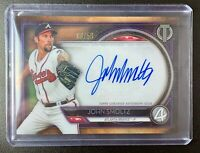 2020 Topps Tribute JOHN SMOLTZ Autograph HOF Signature Purple Parallel SP /50