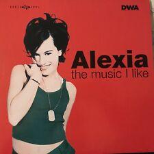 ALEXIA • The Music I Like  • Vinile 12 Mix • 1998 DWA