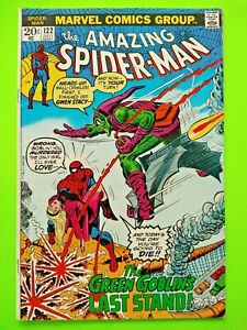 Amazing Spider-Man #122  (Death of the Green Goblin) NO RESERVE