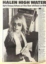 26/6/1982Pg27/30 Article & Picture, David Lee Roth Of Van Halen