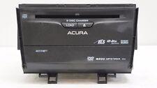 ACURA TSX 09 10 Navigation Radio 6 Disc MP3 WMA DVD CD Player Premium Sound 1XA4