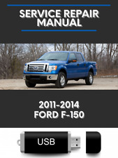 Ford F-150 2011-2014 Factory Service Repair Manual 3.5L 3.7L 5.0L 6.2L Usb