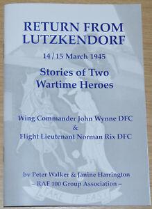 RAF FLYING FORTRESS PILOTS WW2 Wynne & Rix - 214 Bomber Squadron Oulton History