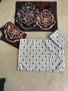 4pc Harry Potter Family Crest Standard Pillow Shams & Cases• Polyester•Northwest