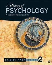 A History of Psychology : A Global Perspective by Eric B. Shiraev (2014, Hardcov