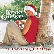 Kenny Chesney - All I Want for Christmas Is a Real Good Tan New CD FREE SHIPPING