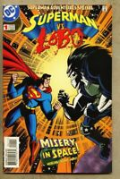 Superman Adventures Special #1-1998 vf 8.0 Lobo Giant-Size