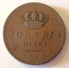 764a5fb646 NAPOLI- FERDINANDO II DI BORBONE- TORNESI DIECI 1848 - R2.