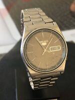 Vintage Seiko 5 Automatic 6309-708B A4 Armbanduhr