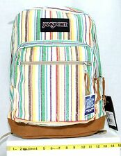 JanSport Right Pack School Student Backpack Hipster Multi Weave Stripe New Tags
