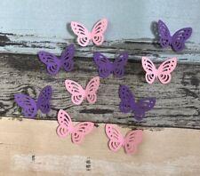 100x Butterfly Confetti Fairy Theme Girl's Birthday Party Wedding Bridal Shower