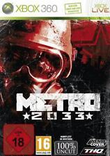 Xbox 360 Metro 2033 Deutsch OVP Sehr guter Zustand