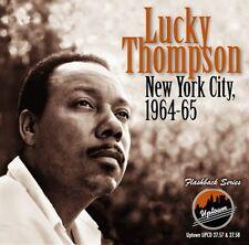 Lucky Thompson - New York City 1964-65 [New CD]