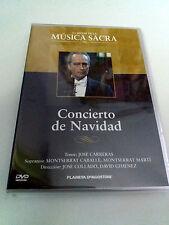 """DVD """"CONCIERTO DE NAVIDAD"""" JOSE CARRERAS JOSE COLLADO DAVID GIMENEZ CABALLE"""