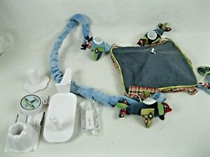 Lambs & Ivy  Airplane Baby Mobile vintage GUC!