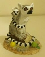 Ring Tailed Lemar - Never Let Go - Country Artists Figure - Wildlife Collectable