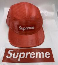 d727c2b2 Supreme SS19 Tie Dye Ripstop Camp Cap Red IN HAND