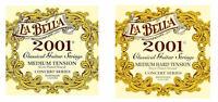 La Bella 2001 Klassikgitarren-Saiten  - 1 Satz