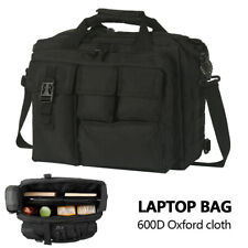 Men Laptop Bags Tactical Briefcase Computer Shoulder Handbags Messenger Bag UK