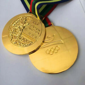 Goldmedaille Olympia Olympische Spiele Peking Barcelona 1992 Medaille
