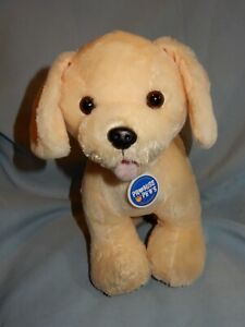 """Build A Bear Promise Pets Yellow Labrador Bark Sound Box in Paw 12"""" height"""