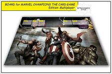 MARVEL CHAMPIONS THE CARD GAME LCG BOARD GAMEBOARD CCG PLAYMAT MULTIPLAYER