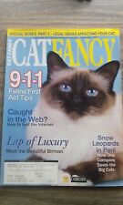 Cat Fancy Magazine - Snow Leopard, Birman, 911 Feline First Aid - February 2004