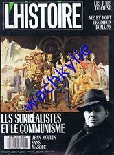 L'histoire n°127 - 11/1989 Surréalisme Communisme Jean Moulin Juifs Chine