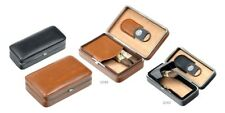 HUMIDOR UMIDIFICATORE TRAVEL CIGAR CASE SCATOLA PORTASIGARI LUBINSKI Q165 PELLE