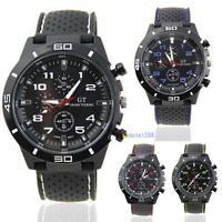 Fashion Men Luxury Black Stainless Steel Analog Quartz Sport Wrist Watch New #M