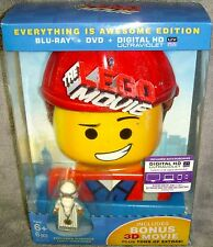 The LEGO Movie: Everything Is Awesome Edition (Blu-ray/3D/DVD, 2014, 3-Disc Set)