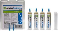 Syngenta 383920 Advion Cockroach Gel Bait 4 X 30 Gram Tubes Roach Control Brown