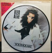 DEAD OR ALIVE/Pete Burns JAPANESE Picture Disc SEALED! Youthquake w/OBI, Inserts