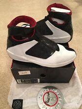 Nike Air Jordan 20 XX Quickstrike Varsity Red Black White QS Size 15