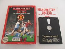 MANCHESTER UNITED THE OFFICIAL COMPUTER GAME - AMSTRAD CPC DISK - COMPLET
