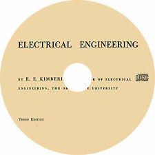 Electrical Engineering by E. E. Kimberly (1951) Book on CD
