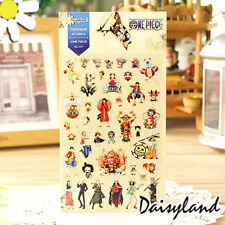 One Piece Mug Cup Phone Sticker Scrapbook Diary Book Decoration Label Collection