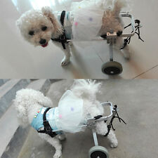 Dog Wheelchair for Small  3 to 15 lbs Dog Pets,Behind legs Rehabilitation