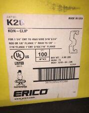 "New listing Caddy Kon-Clip K20 100pcs. for 1 1/4"" Emt, New"
