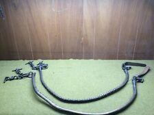 New listing Traces Cable, M1908, pr Wheel Fa Harness McClellan saddle mrkd Us Jqmd 1938