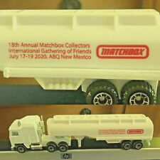 RED 2020 Matchbox Gathering of Friends Convoy CY7 KENWORTH Petrol Tanker 25 MADE