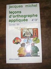 A la découverte de notre langue 4e/3e Français Magnard 1989 Manuel scolaire
