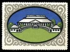 Germany Poster Stamp - Henkell Trocken - Sparkling Wine - Artist L. Bernhard