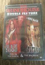 Grindhouse Double Feature:Horror-Evil in the Bayou/Bagman(DVD,2007)NEW Authentic
